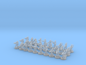 6mm B1 Command and Specialists X30 in Smooth Fine Detail Plastic