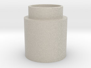Button Activator in Natural Sandstone