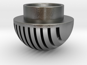 Plates Pommel in Natural Silver