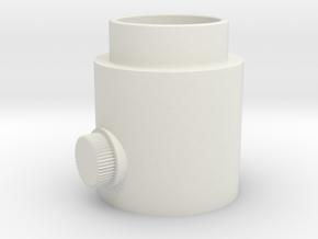 Knob Activator in White Natural Versatile Plastic