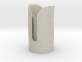 Snips Emitter in Natural Sandstone