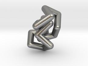 RS-Biscyclooctane in Natural Silver (Interlocking Parts)