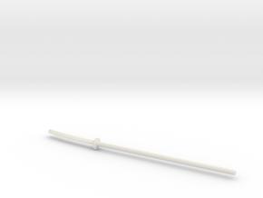 Naginata for ModiBot in White Natural Versatile Plastic