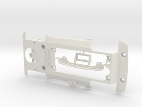 PSCA01601 Chassis for Carrera Ford Capri 3100 in White Natural Versatile Plastic