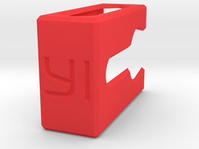 Yi 4k RTS case  in Red Processed Versatile Plastic