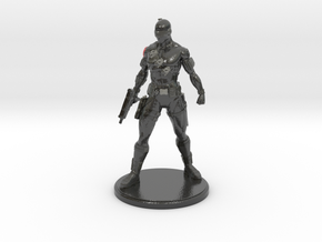 Snake Eyes of G.I. Joe 6.75 Inch Statue in Glossy Full Color Sandstone