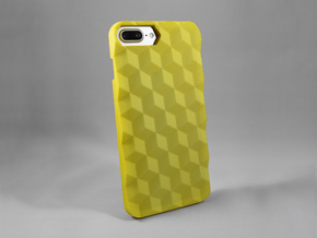 iPhone 7 Plus DIY Case - Hedrona in Yellow Processed Versatile Plastic