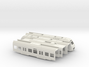 Sprinter Lighttrain (H0) in White Natural Versatile Plastic