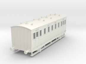 0-76-ner-n-sunderland-saloon-2nd-coach in White Natural Versatile Plastic