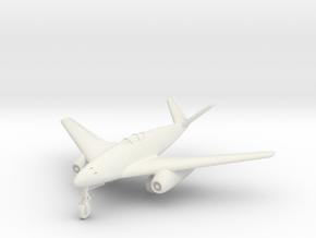 (1:144) Messerschmitt Me 262 HG II V-tail variant in White Natural Versatile Plastic