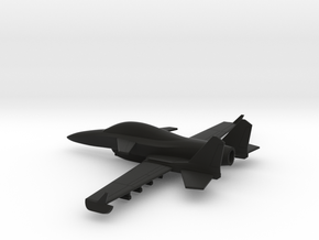 Stavatti SM-28 (w/o landing gears) in Black Natural Versatile Plastic: 1:160 - N