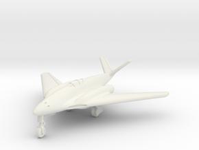 (1:144) Messerschmitt Me 262 HG III V-tail variant in White Natural Versatile Plastic