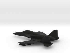 Stavatti SM-47 (w/o landing gears) in Black Natural Versatile Plastic: 1:160 - N