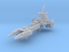 Evil Battle Barge (Variant) in Smooth Fine Detail Plastic