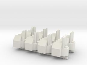 1/285 Major Factory x8 in White Natural Versatile Plastic