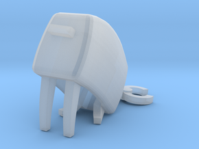 Toasty [Sit] in Smooth Fine Detail Plastic