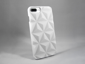 iPhone 7 Plus DIY Case - Prismada in White Processed Versatile Plastic