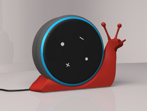 Alexa Snail  in Red Processed Versatile Plastic