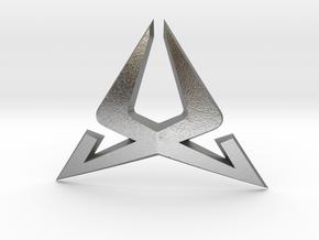 Cupra Steering Wheel Logo Front in Natural Silver