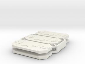 Star Wars Armada Evade Defense Tokens in White Natural Versatile Plastic
