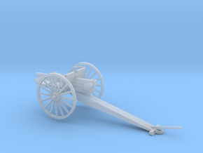1/87 Scale 3 inch Gun Carriage M1902 in Smooth Fine Detail Plastic