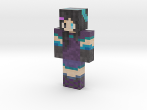 Water_Moon | Minecraft toy in Natural Full Color Sandstone