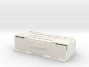 1:14 Truck LKW Batterie in White Natural Versatile Plastic