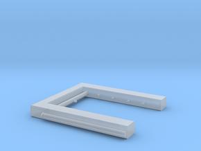 Berieselungsanlage Zugwaschanlage Spur N 1:160 in Smoothest Fine Detail Plastic