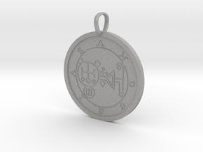 Amdusias Medallion in Aluminum