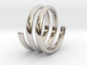 spring ring size 5.5 in Platinum