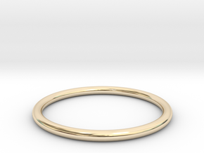 wire ring size 5.5 in 14K Yellow Gold