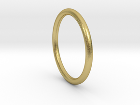 wire ring size 9.5 in Natural Brass