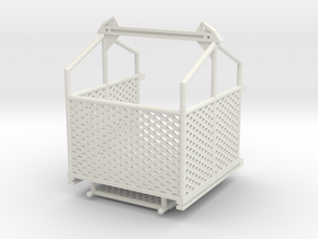 Cargo basket 6x6 ft. movable door - 1:50 in White Natural Versatile Plastic