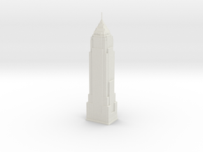 Key Tower (1:2000) in White Natural Versatile Plastic
