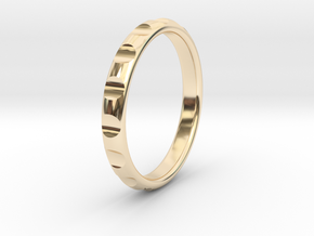 ring gear size 5 in 14K Yellow Gold