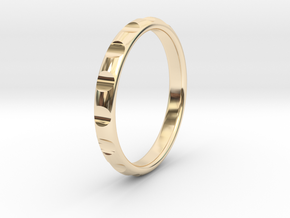 ring gear size 6 in 14K Yellow Gold
