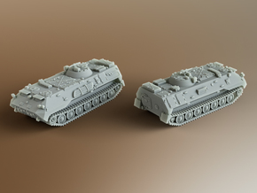 MT-LBu Soviet multi-role amphibious Scale: 1:200 in Smooth Fine Detail Plastic
