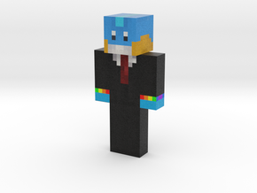 rainbutts   Minecraft toy in Natural Full Color Sandstone