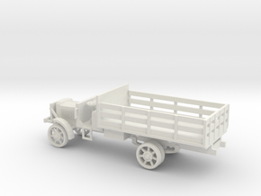 1/72 Scale Liberty Truck Cargo in White Natural Versatile Plastic