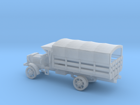 1/144 Scale Liberty Truck Cargo with Cover in Smooth Fine Detail Plastic