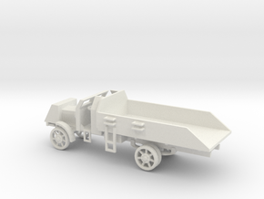 1/100 Scale Liberty Armored Truck in White Natural Versatile Plastic