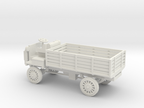 1/48 Scale FWD B 3-Ton 1917 US Army Truck in White Natural Versatile Plastic