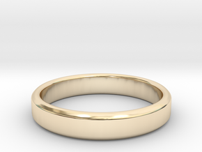 tough guy ring size 9.5 in 14k Gold Plated Brass