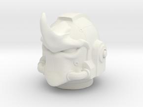 Marine_mkRhino_helmet in White Natural Versatile Plastic