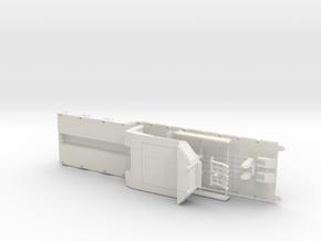 D 02-50 Tieflbett ähnlich Doll Panther 3achs 1:50 in White Natural Versatile Plastic