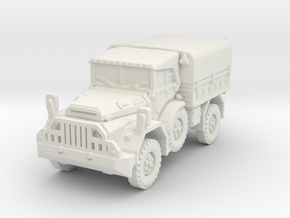 DAF YA 126 (Hardtop) scale 1/100 in White Natural Versatile Plastic