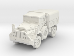 DAF YA 126 (Hardtop) scale 1/56 in White Natural Versatile Plastic