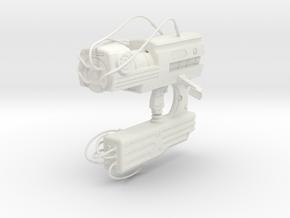 1:6 Miniature H-Gun (Z-Gun) - Gantz in White Natural Versatile Plastic