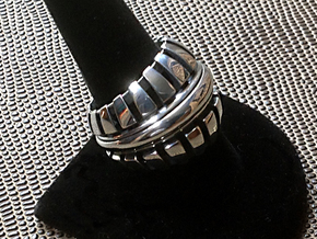 Spider Ring - Size 11 1/2 (20.98 mm) in Polished Silver