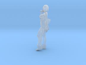 1/24 Sci-Fi Girl Anzu w Sniper Rifle and Pistols in Smooth Fine Detail Plastic